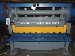 Ремонт и монтаж товаров - Капитальный ремонт ножниц гильотинных Н3121., 0