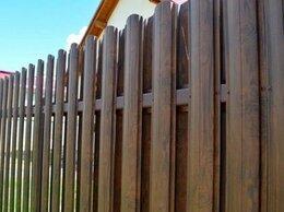 Заборы и ворота - Металлический штакетник под дерево, 0