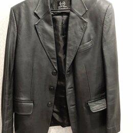 Пиджаки - Кожаный пиджак куртка, 0
