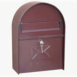 Почтовые ящики - Почтовый ящик на калитку ВН26 коричневый, 0
