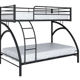 Кровати - Металлическая двухъярусная кровать Виньола-2, 0