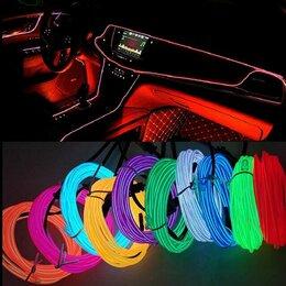 Светодиодные ленты - Лента неоновая автомобильная, 5м с прикуривателем, 0