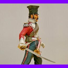 Сборные модели - 1/16 Продаю модель солдат фигурка Немецкий улан горнист Верлинден 1384 , 0