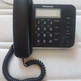Проводные телефоны - Проводной телефон Panasonic KX-TS2352RU, 0