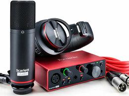Оборудование для звукозаписывающих студий - FOCUSRITE Scarlett Solo Studio 3rd Gen Комплект…, 0