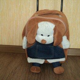 Рюкзаки, ранцы, сумки -  Детский чемодан на колесах и рюкзак 2 в 1, 0