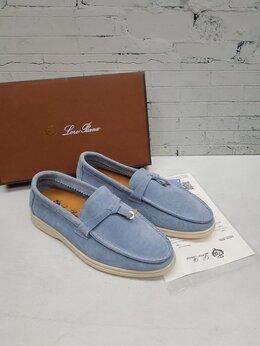Мокасины - Мокасины Loro Piana Blue, 0