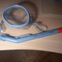 Маски и трубки - Детская Маска и трубка для подводного плавания 3-4 года, 0