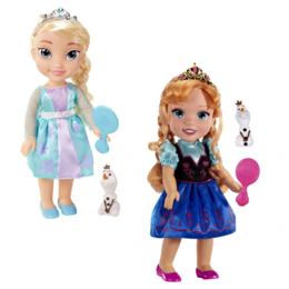 Куклы и пупсы - Куклы Frozen Эльза или Анна со снеговиком, 0