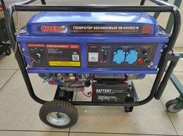 Электрогенераторы - 📣🔥Бензиновый генератор спец SB-6500E2-N, 0