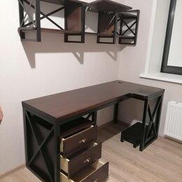 Столы и столики - Изготовление мебели в стиле лофт из массива дерева, 0
