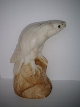 Статуэтки и фигурки - Скульптура Орел Мрамор натуральный камень Размер…, 0