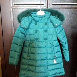 Куртки и пуховики - Новое пальто пуховик Moncler р. 5 оригинал Италия, 0