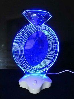 Ночники и декоративные светильники - Светильник ночник с эффектом 3D, 0