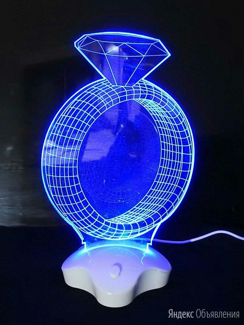Светильник ночник с эффектом 3D по цене 550₽ - Ночники и декоративные светильники, фото 0