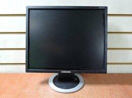 Мониторы - Монитор с дефектом ЖК 19'' 5:4 Samsung 943N черный, 0
