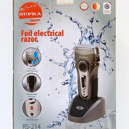 Электробритвы мужские - Электробритва SUPRA RS-214 (серая), 0