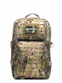 Рюкзаки - Рюкзак тактический RU 065 цвет Черный ткань…, 0