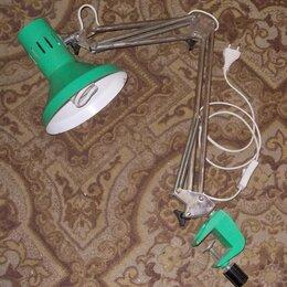 Встраиваемые светильники - Светильник на струбцине е27 с лампой , 0