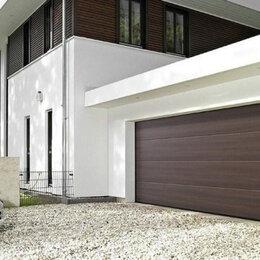 Заборы, ворота и элементы - Секционные ворота 4х2,8м 4000х2800мм, 0