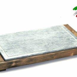 Электрические грили и шашлычницы - Сковорода гриль Bisetti 99274A мясо овощи рыбы креветки шашлык сосиски на камне, 0