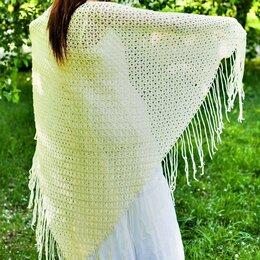 Шарфы, платки и воротники - Вязаная шаль платок, 0