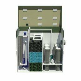 Фильтры и аэраторы - Установки очистки воды прудов c рыбой и биотопов, 0