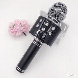 Аудиооборудование для концертных залов - Блютуз микрофон wster WS858, 0