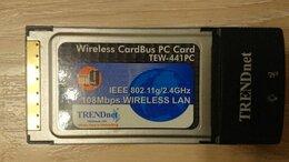 Оборудование Wi-Fi и Bluetooth - Адаптер WiFi trendnet TEW-441PC, 0