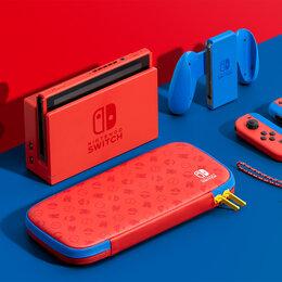 Игровые приставки - Nintendo Switch 32 GB Особое издание Марио, 0