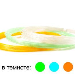 """Расходные материалы для 3D печати - UNID Набор пластика для 3D ручек: PLA-""""F3"""" (по 10м. 3 цвета), 0"""