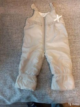 Полукомбинезоны и брюки - Зимние брюки для девочки 2,5-3 года, 0