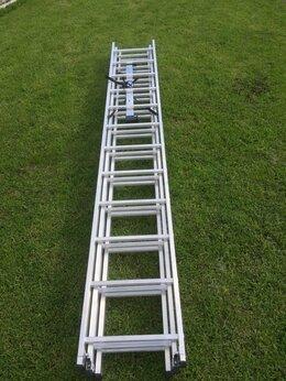 Лестницы и стремянки - Лестница алюминиевая 8м, 0