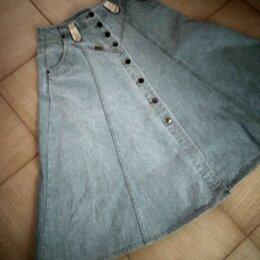 Юбки - Новая джинсовая винтажная юбка  Wrangler  33 размера, 0