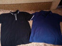 Футболки и майки - 2 мужские футболки-поло хлопок 46-48 размер, 0