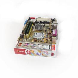 Материнские платы - Материнская плата mATX Asus P5GC-MX/1333 б.у процессор Intel(R) Core(TM)2 Duo , 0