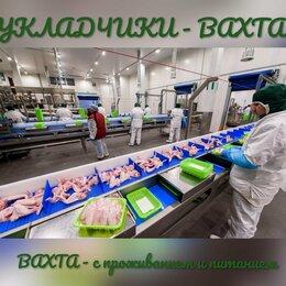 Укладчик - Укладчики/ Вахта в Москве с проживанием+ питание, 0