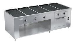 Промышленные плиты - Плита газовая Вулкан ПРГ-IIA-5С ДШ Maxi, 0