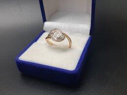 Кольца и перстни - Золотое кольцо 585 пробы массой 3,2 грамма (Р17.5), 0