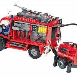Машинки и техника - Новая Машина пожарная Dickie с прицепом, 0