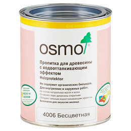 Пропитки - 4006 Пропитка для древесины 0,75л, с водоотталк.…, 0