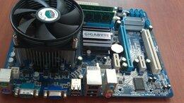 Материнские платы - G41 Gigabyte + 2Duo 3GHz + 2Gb DDR3 (10 штук), 0