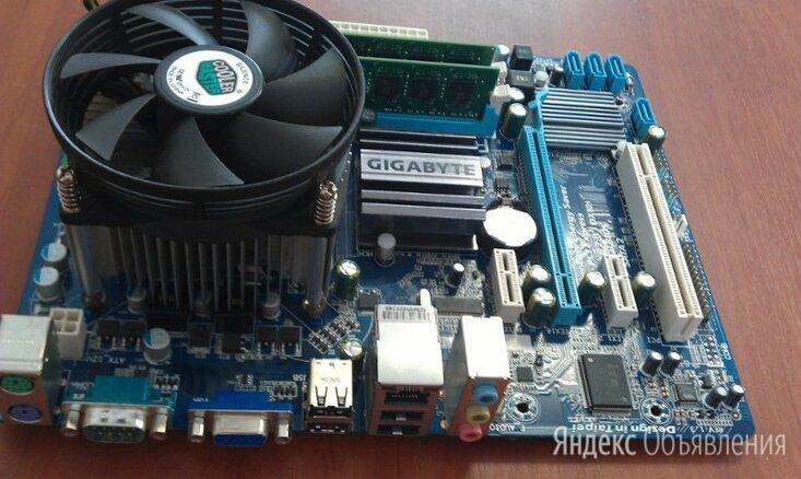 G41 Gigabyte + 2Duo 3GHz + 2Gb DDR3 (10 штук) по цене 2100₽ - Материнские платы, фото 0