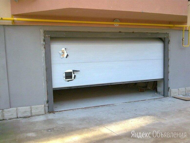 Секционные гаражные ворота по цене 60000₽ - Заборы, ворота и элементы, фото 0