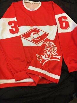 Толстовки - Свитшот хоккей Спартак 50-52 р, 0