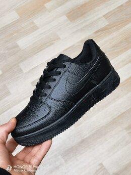 Кроссовки и кеды - Кроссовки Nike Air Force Total black , 0