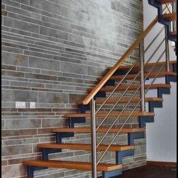 Лестницы и элементы лестниц - Лестницы на металлическом каркасе, 0