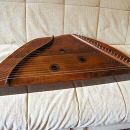 Щипковые инструменты - Гусли «Шлемовидные» 23 струны с чехлом в комплект, 0