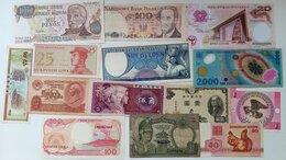Банкноты - 14 различных банкнот, 0