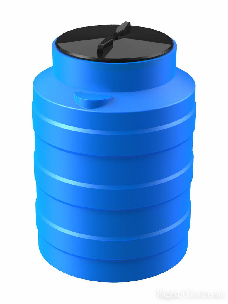 Емкость V 100 литров (синий) по цене 2240₽ - Ёмкости для строительных работ, фото 0